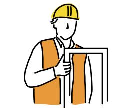 Montaggio di serramenti e infissi in pvc, alluminio e legno